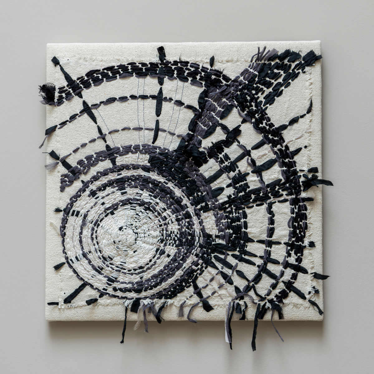 silk embroidered wall hanging